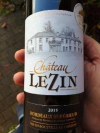 Vang phap Château Lezin Bordeaux Supérieur