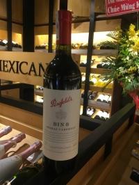 Rượu vang Úc Penfolds Bin 8 Cabernet Sauvignon Shiraz