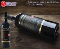 Rượu vang ý Papale giá tốt tphcm