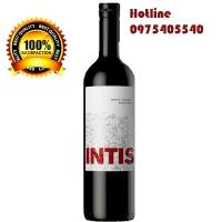 Rượu vang đỏ Argentina Finca Las Moras Intis Merlot - Malbec giá tốt tphcm