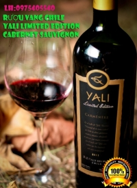 RƯỢU VANG CHILE YALI LIMITED EDITION CABERNET SAUVIGNON