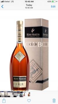 Remy martin club giá tốt Hồ Chí Minh