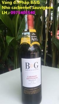 Rượu Vang Pháp B&G bán sỉ giá tốt nhất HCM