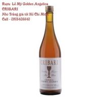 Rượu  Lễ Mỹ Golden Angelica CRIBARI – Nho Trắng giá tốt Hồ Chí Minh