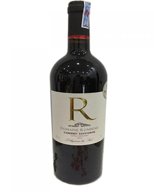 Rượu vang Domailne Rombeau chữ R