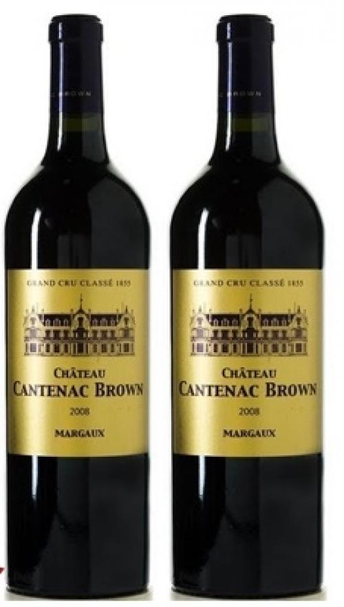 Rượu vang Château Cantenac Brown