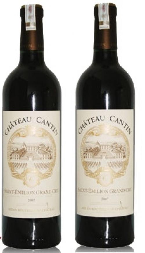 Rượu vang Chateau Cartin