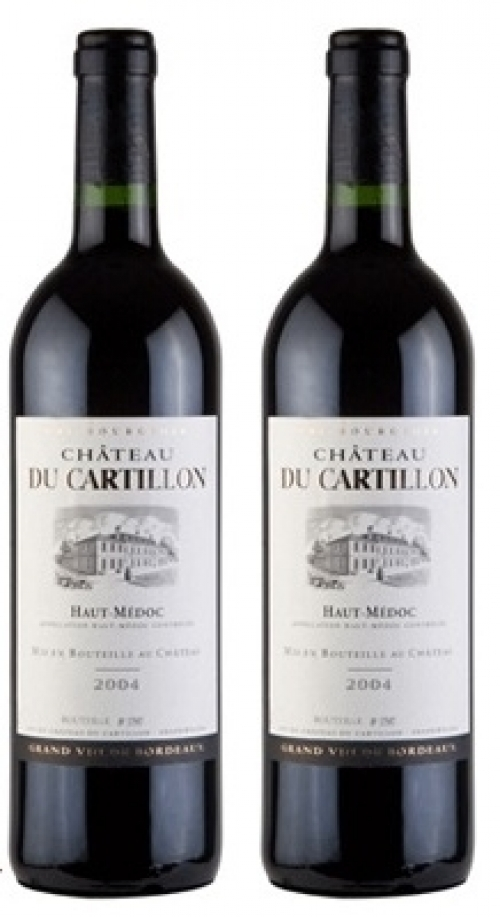 Rượu vang chateau du cartillon