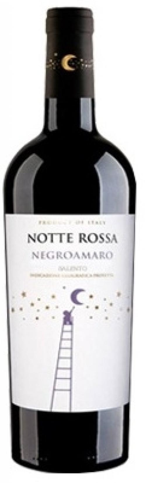 Rượu vang Notte Rossa Negroamaro Salento I.G.P Vintaga 2015