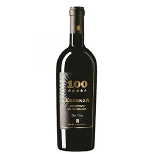 Rượu vang 100 ESSENZA primitivo di Manduria 2012