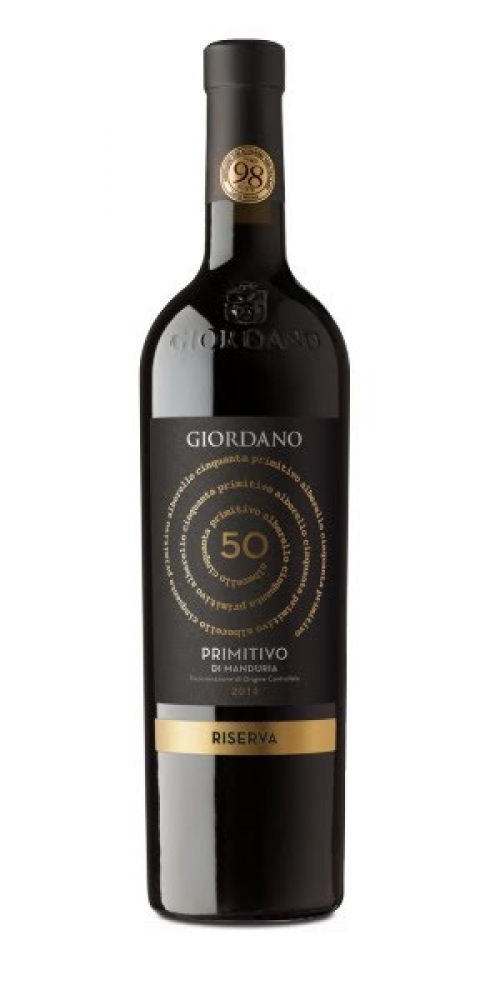 Rượu vang Rinforzato Giordano Riserva Primitivo Di Manduria D.O.C 2013