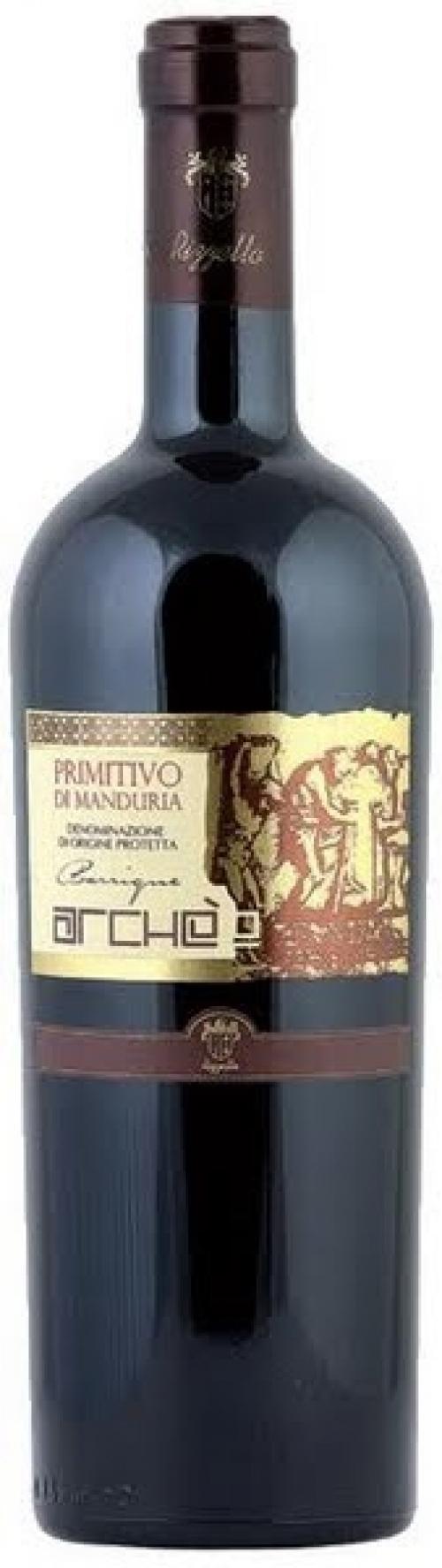 Rượu vang Le Vigne di Sammarco Archè Primitivo di Manduria 2013