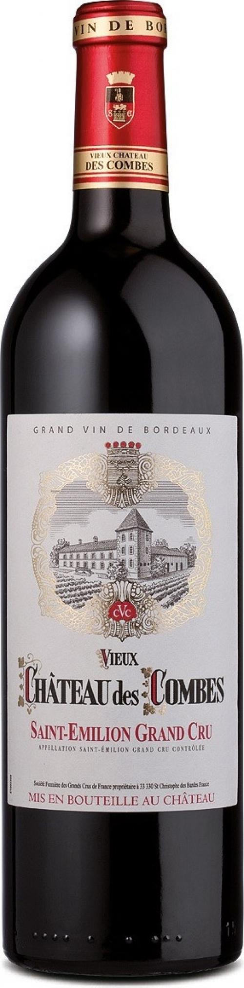 Rượu vang Château Des Combes 2013