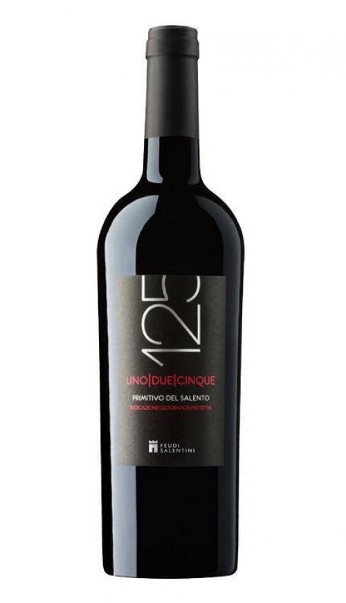 Rượu vang 125 PRIMITIVO Del Salento 2015