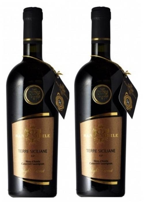 Rượu vang Santi Nobile Nero d'avolaTerre Siciliane IGP