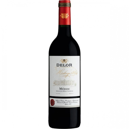 Vang Delor Heritage 1864 Bordeaux Rouge