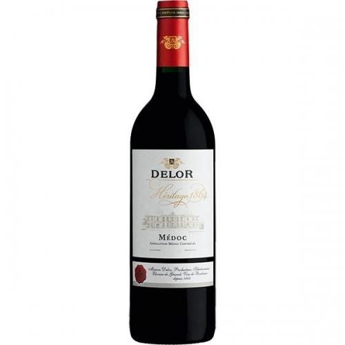 Vang Delor Heritage 1864 Bordeaux Rouge