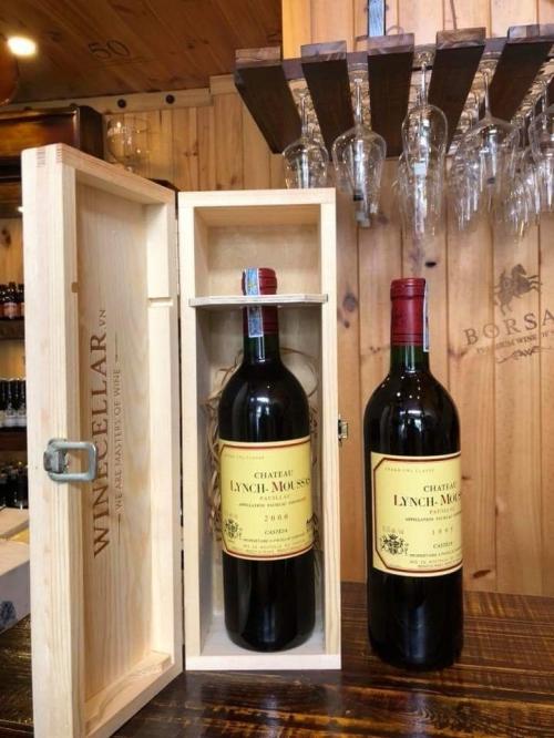 Rượu vang Chateau Lynch Moussas