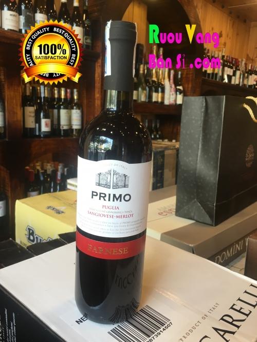 Rượu Vang đỏ Ý  dưới 200 ngàn Primo