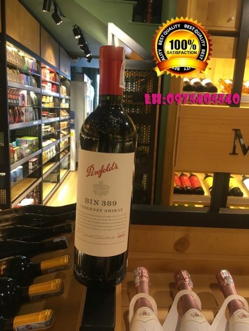 Rượu vang Úc Penfolds Bin 389 Cabernet Shiraz