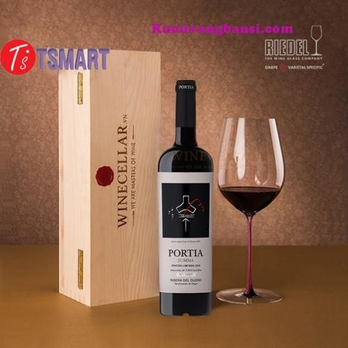 Vang Tây Ban Nha Portia Summa Limited Edition, Ribera del Duero TPHCM