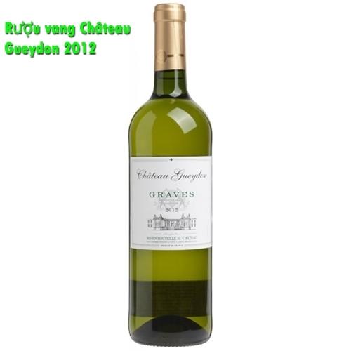 Rượu vang Château Gueydon 2012