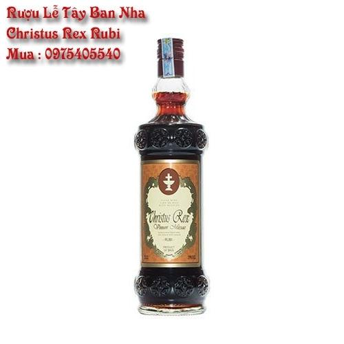 Rượu Lễ Tây Ban Nha Christus Rex Rubi Giá Tốt Hồ Chí Minh