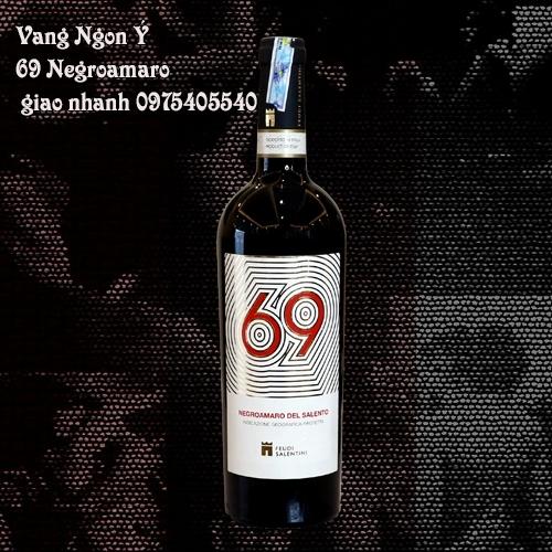 Vang Ngon Ý - 69 Negroamaro giao nhanh 0975405540