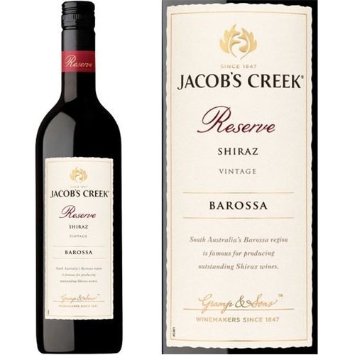 Rượu Vang Jacobs Creek Reserve Shiraz