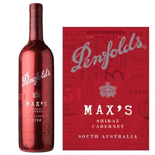 Rượu Vang Đỏ Penfolds Maxs Shiraz Cabernet Sauvignon