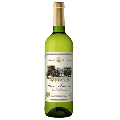 Rượu Vang Maison Trắng Francaise Comte Tolosan 750ml