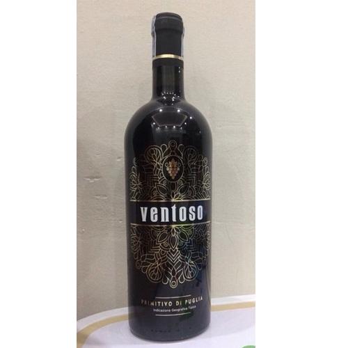 Rượu Vang Đỏ Ventoso Primitivo