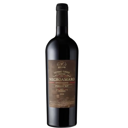 Rượu Vang Ý Ultimo Tocco Negroamaro Salento IGT Appassimento 2016