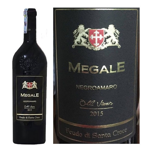 Rượu Vang Ý Megale Negroamaro Old Vines
