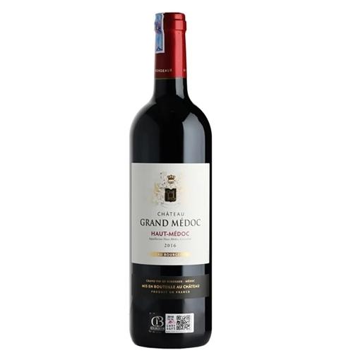 Rượu Vang Pháp Chateau Grand Medoc Haut-Medoc