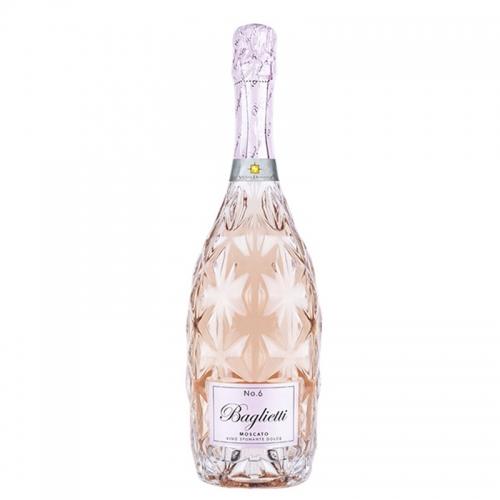 Rượu vang ý Moscato Rose No.6 Sparkling