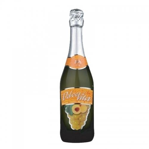 Succo Duva Alla Pesca Peach Grape Juice(Vị Đào)