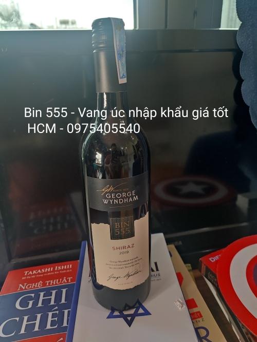 RƯỢU VANG ÚC BIN 555 GIÁ